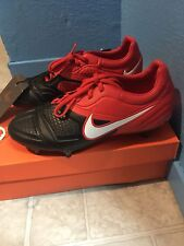 Nike ctr360 Maestri SG Original Soft Ground SG Red Black Sz 7.5