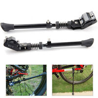 """Black Aluminum Alloy Bike Bicycle Kickstand Side Stand Fits For 16"""" 20"""" 24"""" 26''"""