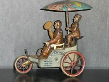 1910's Germany Lehmann EPL # 681 AM POL Explorer Tin Wind Up Toy, A Rare One...