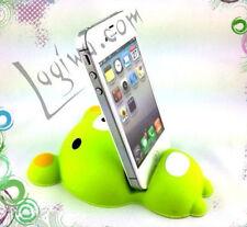 Support ourson en silicone pour tout smartphone -  ourson vert en silicone