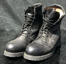 Men's Wrangler Work Wear 46797 ANSI-Z41-PT99 Black Steel Toe Lace Up Boots 11.5