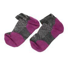 Smartwool Women's PhD Run Light Elite Low Cut Socks in Meadow Mauve 5901 Size L