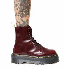 NEW Dr. Martens JADON II 8 Eye Boots Size 11 US 9 UK 43 EU Vegan Cherry