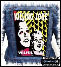KILLING JOKE - Wilful Days --- Huge Jacket Back Patch Backpatch