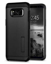 Galaxy S8 Plus Case, Spigen Tough Armor Cover - Black
