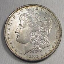 1880-O TOP 100  Morgan Dollar VAM 48 AU Details Coin AF715