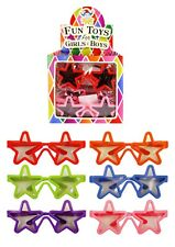 12 Star Novelty Glasses Party Bag Fillers Gifts Loot Pinata Toys Children Kids