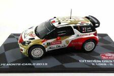 CITROEN DS3 WRC LOEB 2013 Rally Montecarlo 1:43 Ixo Eaglemoss Diecast
