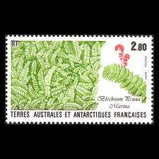 "TAAF 1989 - Flora and Fauna ""Blechnum penna marina"" Plants - Sc 145 MNH"