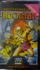 Rockman C 16, plus 4 cassette (box manual, game) 100% OK (Mastertronic, 1985)