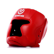 Head Protective Red Boxing Helmet Interactive Game Martial Art Joust Headgear