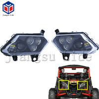LED front light Headlight For ATV canam Maverick X3 2017 2018