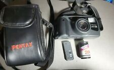 Pentax Zoom 90-Wr Film Camera Water Resistant w Wireless Remote & Pentax Tested