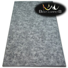 """Hardwearing Soft carpets """"POZZOLANA"""" grey thick wall-to-wall Rug Best-carpets"""