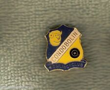 Condobolin Bowling Club Lapel Badge, Sheep / Ram Design