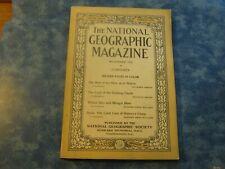 ANTIQUE NATIONAL GEOGRAPHIC November 1919 ARABIA: NEW ARAB NATION Armenia SYRIA