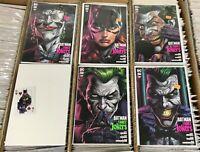 Batman Three Jokers 2 Five Comic Lot With Premium Variants, Insured Shipping