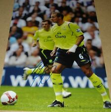 PHIL JAGIELKA PERSONALLY SIGNED EVERTON 12X8 AUTOGRAPH PHOTO SOCCER