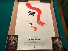 Black Widow Olly Moss Mondo Art Print Mint Rare Limited Edition The Avengers