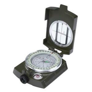 American Camping Survival Compass Lensatic Geological Digital Compass K4580 #G