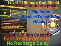 Borderlands 3 - (ps4) Transformer Boom Madcap (God mode)Lev 1(1 Bill Cap)X5 Pack