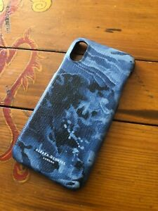 Stunning Dunhill Duke Leather Marble Effect iPhone X Snap Phone Cover BNWOT