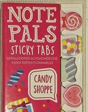 Ooly Brand Candy Shoppe Note Pals Sticky Tabs Bookmarks Cute Lollipop Post Notes