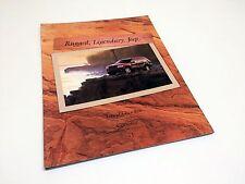 2000 Jeep Grand Cherokee TJ [Wrangler] Cherokee Full Line Brochure
