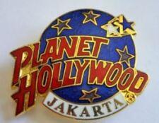 Planet Hollywood Pin / Badge Jakarta Classic Dark Blue Globe Logo