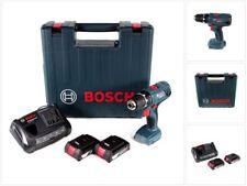 Bosch Professional GSR 18 V-21 Bohrschrauber + 2x 2Ah Akku + Ladegerät im Koffer