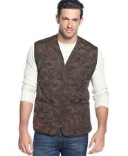 Field & Stream Reversible Camo Quilted Fleece Lined Vest Hunting Jacket Large