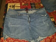 Torrid Jean Shorts Size 26 Medium Wash