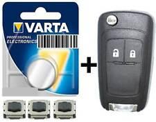 Schlüssel Gehäuse Reparatur für Opel  Astra J  Zafira Corsa E Insignia Meriva