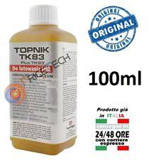 FLUX FLUSSANTE PROFESSIONALE LIQUIDO TOPNIK TK 83 NO CLEAN BASE ALCOOL SALDATURE