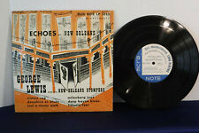 "George Lewis/New Orleans Stompers,Echoes, Blue Note BLP 7010, 1951,10"" 33 RPM EP"