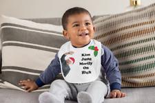 Funny Baby Bib - Christmas Novelty Gift - Kim Jong Un | Newborn Baby | Baby Show