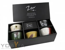 """5 Matcha Teeschalen- Set in 5 verschiedenen Designs MADE IN JAPAN von """"Zen"""" #920"""