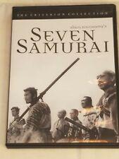 Seven Samurai - Criterion Collection (Dvd, 1998) Criterion #2
