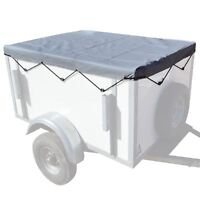 6' x 4' ft (182x122cm) Trailer Cover With Elastic Cord Eyelets Erde Daxara TR2