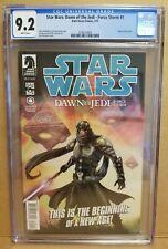 STAR WARS DAWN OF THE JEDI FORCE STORM #1 CGC 9.2 1ST PRINT JE'DAII ORIGIN 2012