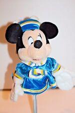 "Disney At Sea Tokyo Minnie Mouse Hand Puppet 11"" Plush Sailor Rare Discontinued"
