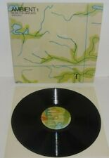 BRIAN ENO AMBIENT 1 Music For Airports original 1978 EG 1st PRESS LP w/inner