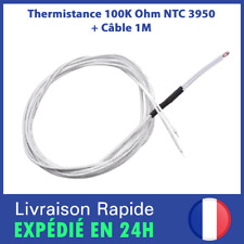 Thermistance 100K ohm NTC 3950 RepRap Hotend Thermistor capteur Imprimante 3D