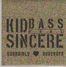 (AZ182) Kid Bass Sincere, Goodgirls Love Rudeboys DJ CD