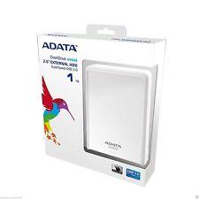 "ADATA DashDrive HV620 1To 2.5"" USB 3.0 Disque dur externe portatif - blanc"