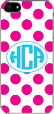 Personalized Monogrammed iPhone 5 Custom Sticker on Hard Case Cover