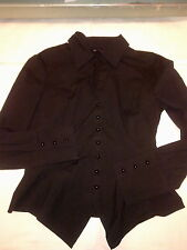 PENNYBLACK - CAMICIA - SHIRT - BLACK NERA - SIZE: UK 10 - EUR 38 - LONG SLEEVE