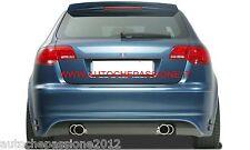 Sotto paraurti posteriore per Audi A3 sportback anche RS3 S3 S-LINE