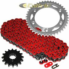 Red O-Ring Drive Chain & Sprockets Fits HONDA CBR929RR CBR954RR 2000-2003