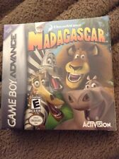 "new game boy advance ""Madagascar"" game"
